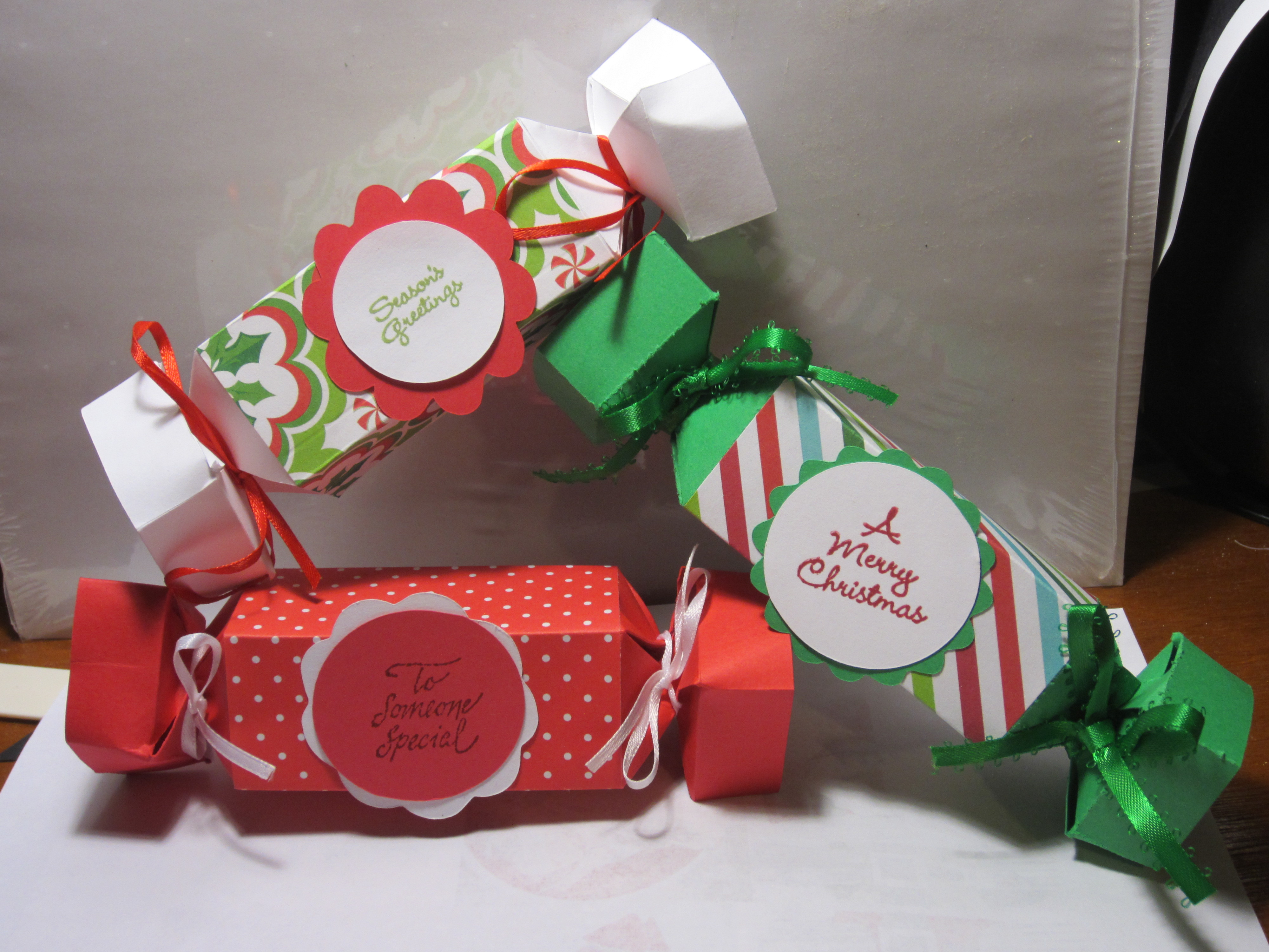 Christmas Candy Boxes  Holiday Candy Wrapper Boxes