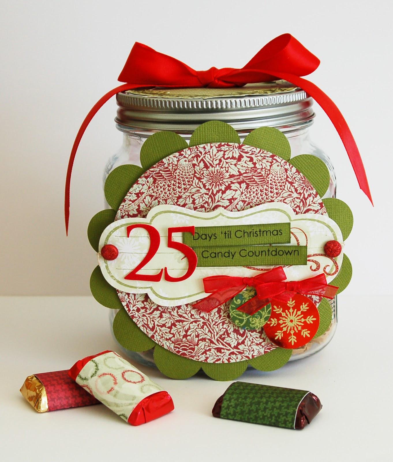 Christmas Candy Calander  Christmas Candy Countdown Calendar