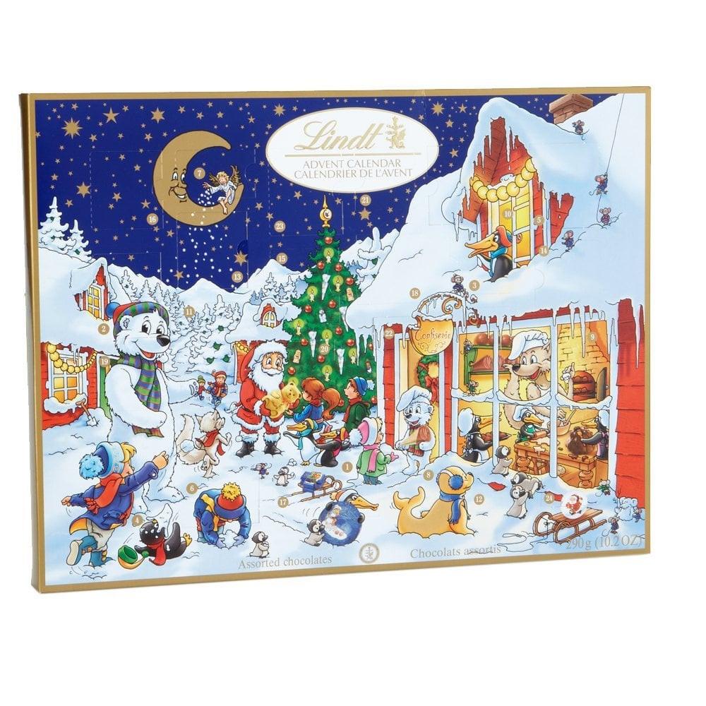 Christmas Candy Calander  Lindt Chocolate Holiday Advent Calendar $32
