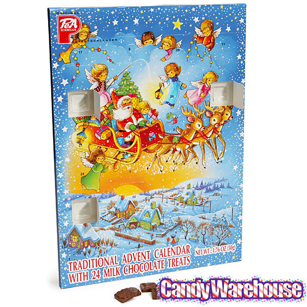 Christmas Candy Calander  PeA Schokolade Traditional Christmas Chocolate Advent