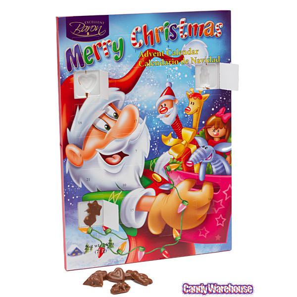Christmas Candy Calander  Christmas Chocolate Advent Calendar