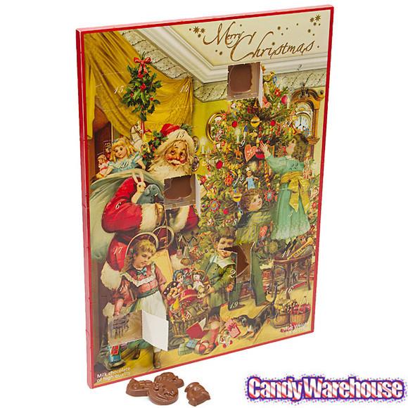 Christmas Candy Calander  Christmas Nostalgia Chocolate Advent Calendar