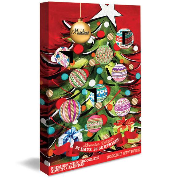 Christmas Candy Calander  Deluxe Christmas Tree Chocolate Advent Calendar