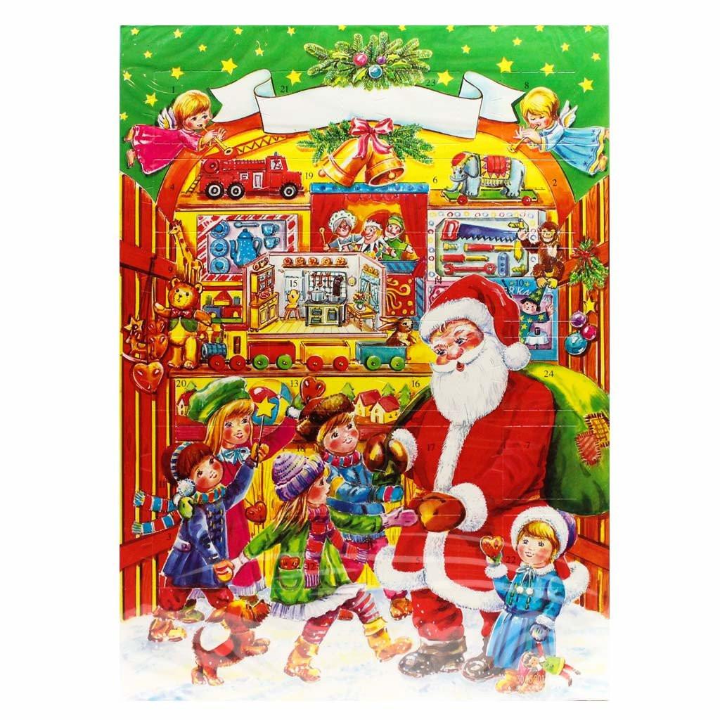 Christmas Candy Calander  Chocolate Advent Calendar 2017 by Muller & Muller 2 6 oz