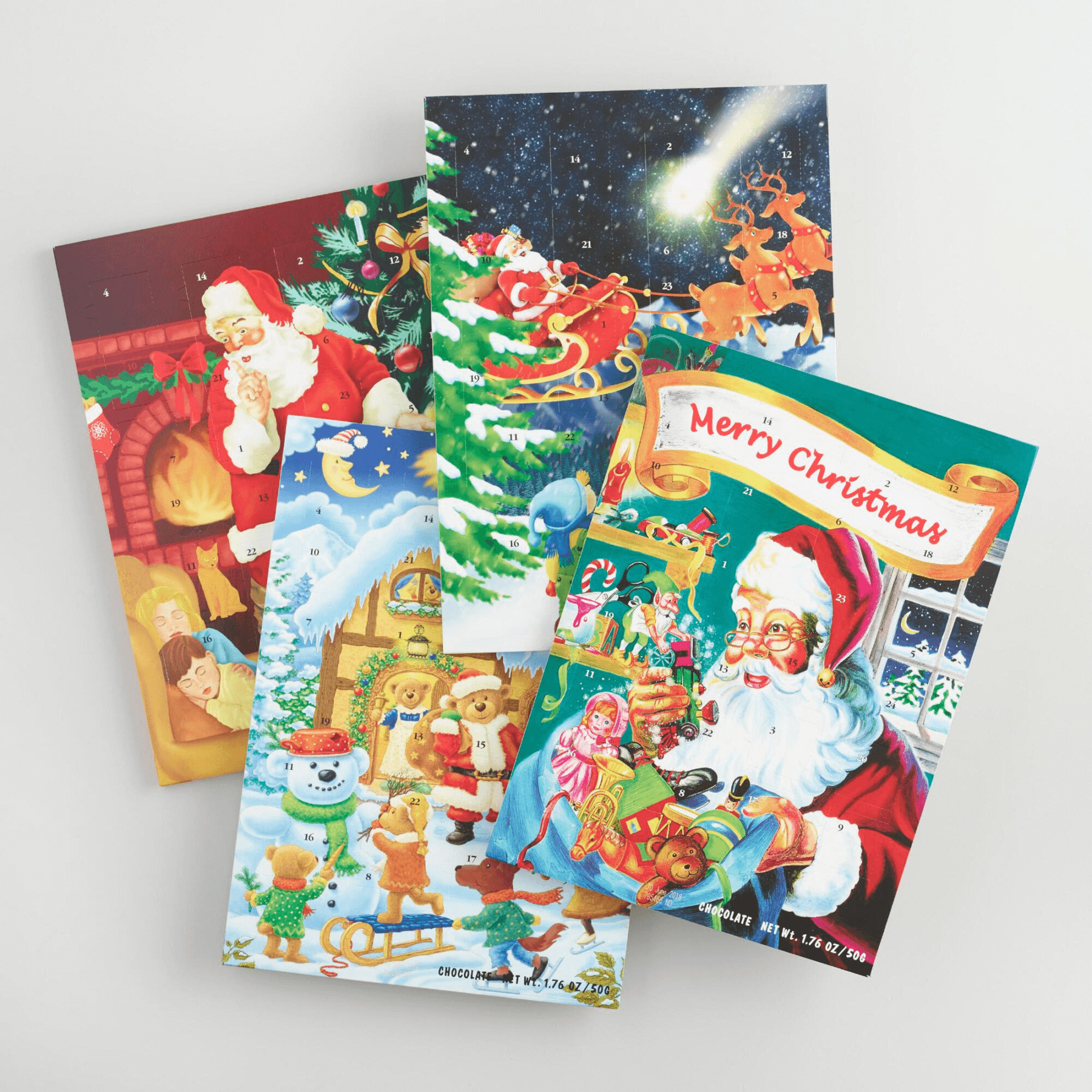 Christmas Candy Calander  Chocolate & Candy Advent Calendars For a Sweet Christmas