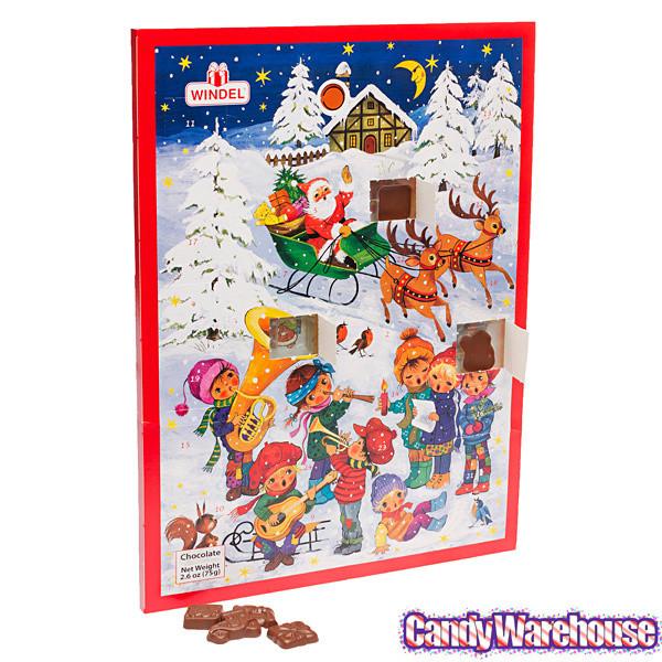 Christmas Candy Calander  Musical Christmas Chocolate Advent Calendar