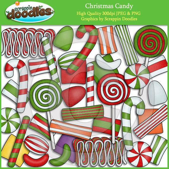 Christmas Candy Clip Art  Christmas Candy Clip Art