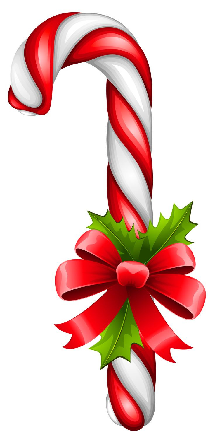 Christmas Candy Clip Art  Christmas Candy Cane Transparent PNG Clipart