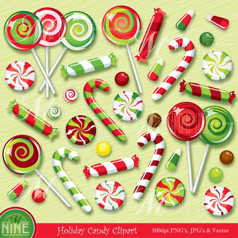 Christmas Candy Clip Art  CHRISTMAS Clip Art CHRISTMAS CANDY Clipart