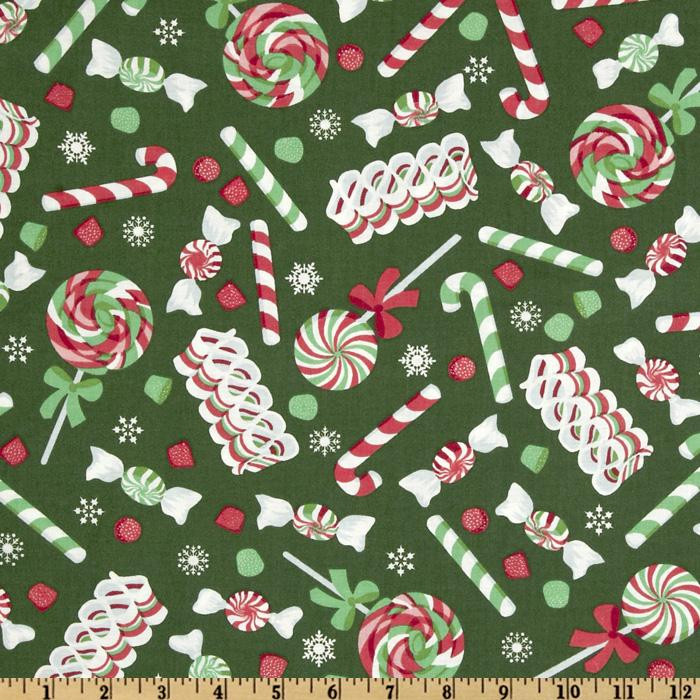 Christmas Candy Fabric  Object moved