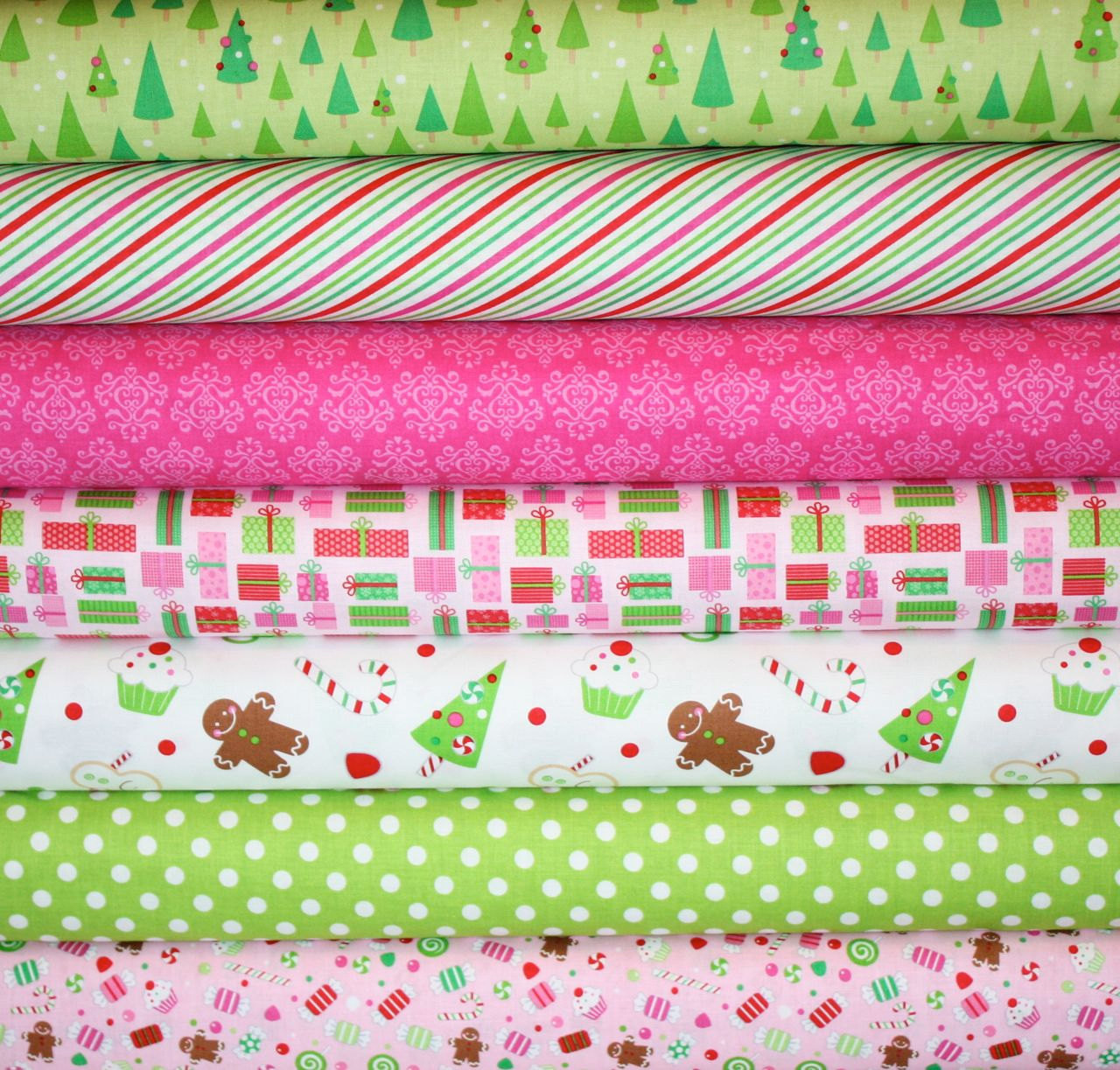 Christmas Candy Fabric  Candy Christmas Fabric by Doodlebug Designs for Riley Blake