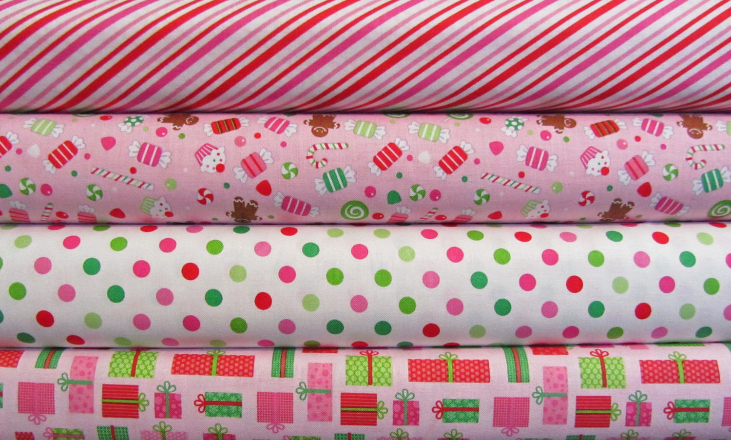 Christmas Candy Fabric  Riley Blake Christmas Candy Fabric by spiceberrycottage on