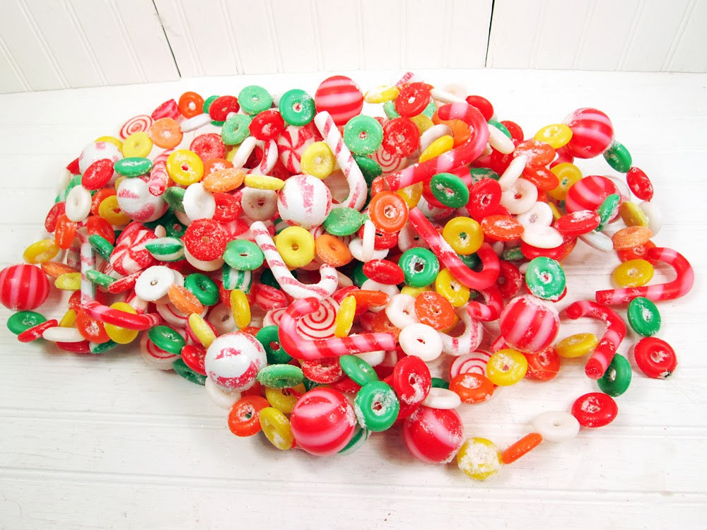 Christmas Candy Garland  Vintage Goodness 1 0 November 2013