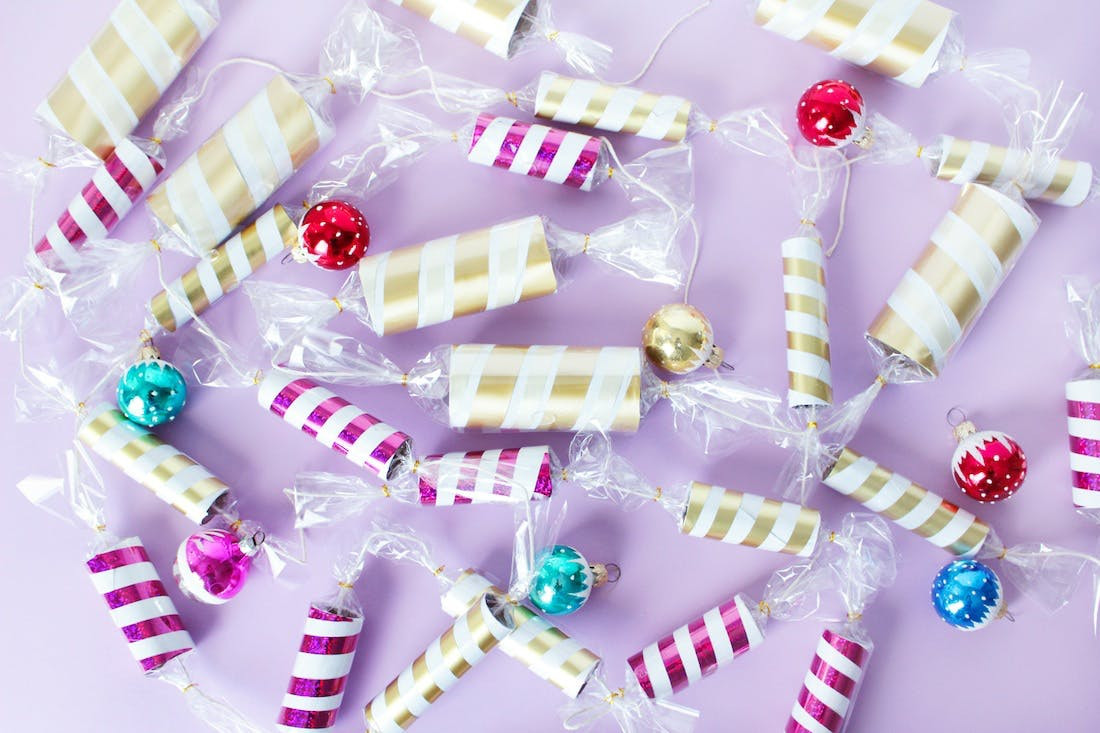 Christmas Candy Garland  How to Make Holiday Christmas Candy Garland