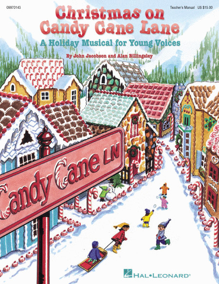 Christmas Candy Song  Sheet music Christmas on Candy Cane Lane Musical