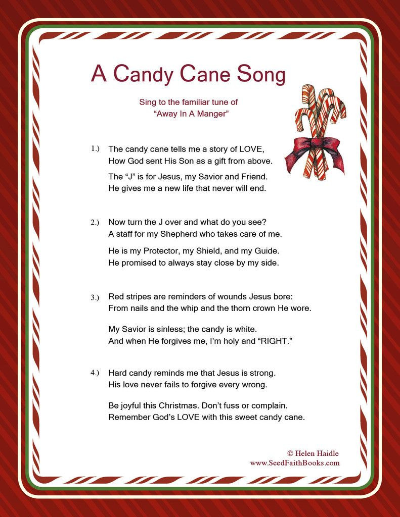 Christmas Candy Song  Candy Cane Legend Song PDF