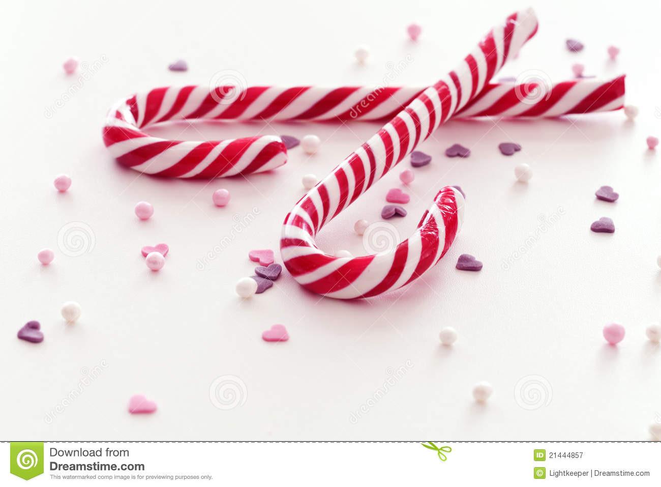 Christmas Candy Sticks  Christmas candy sticks stock image Image of stripe