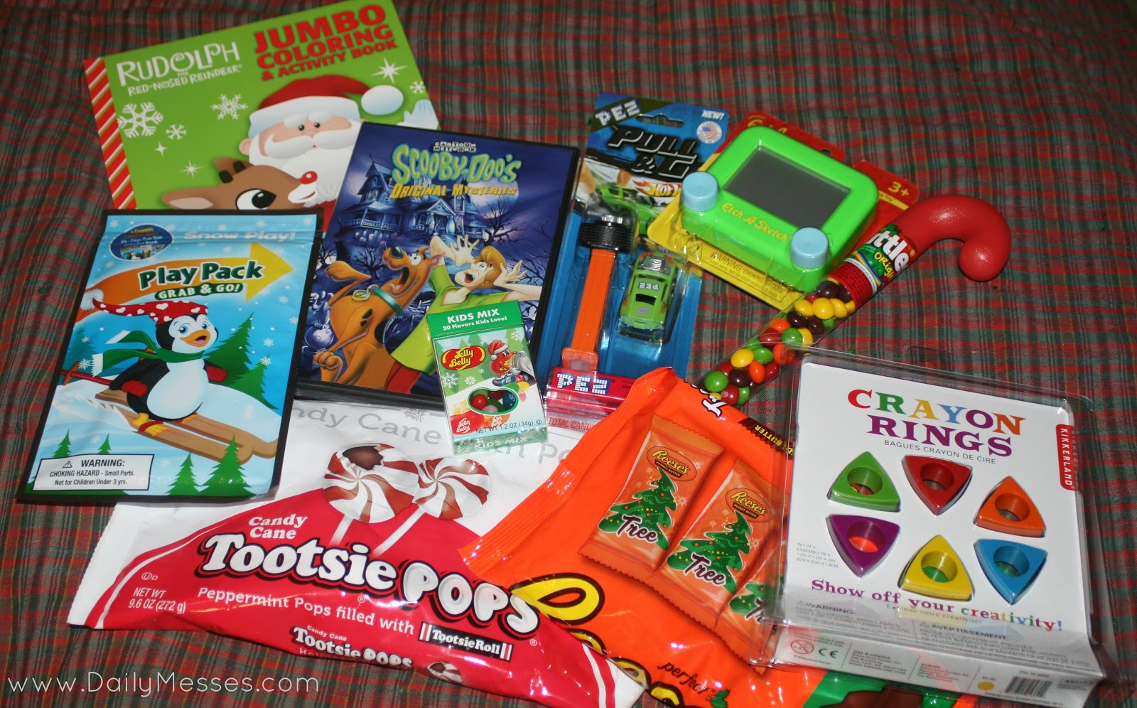 Christmas Candy Stocking Stuffers  Daily Messes St Nick s Day is 12 6