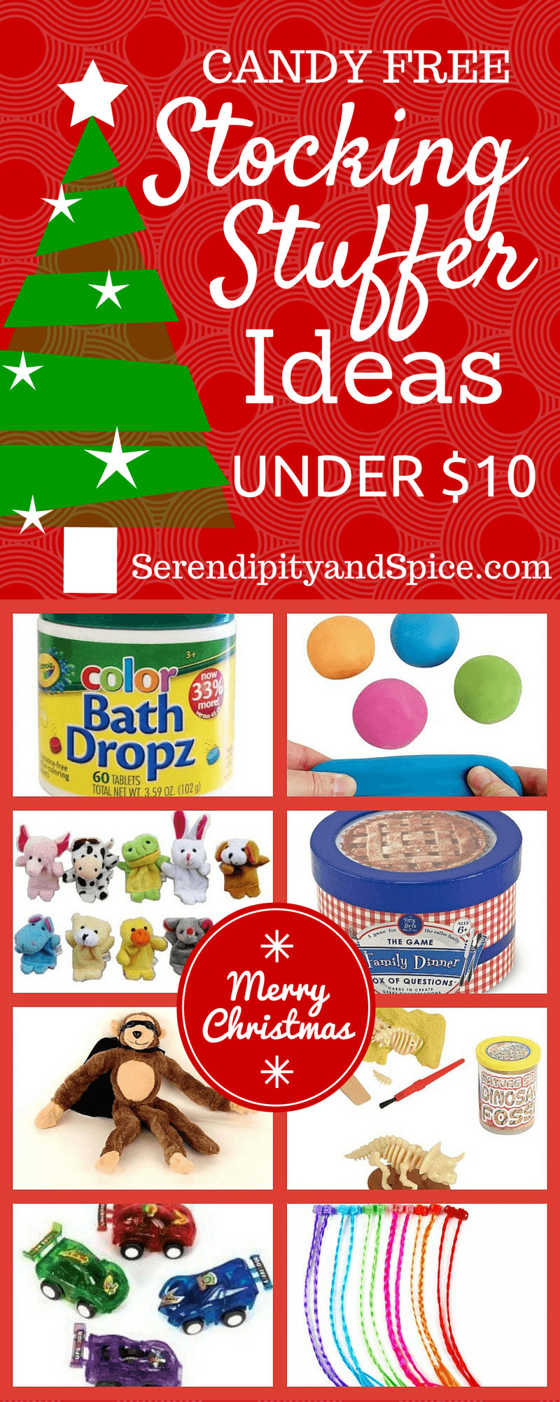 Christmas Candy Stocking Stuffers  Stocking Stuffer Ideas Other Than Candy Serendipity and