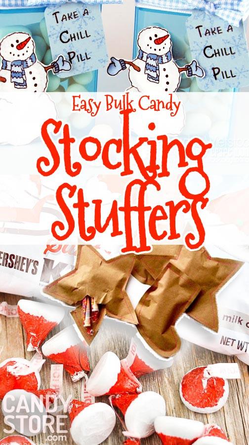 Christmas Candy Stocking Stuffers  Stocking Stuffers w Bulk Candy Are Adorable & Cheap