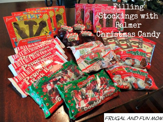 Christmas Candy Stocking Stuffers  Filling Our Stockings and Decorating Treats With Palmer