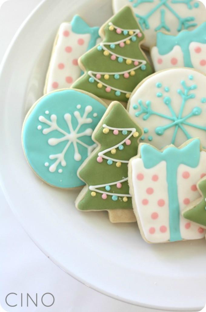 Christmas Cookie Icing Ideas  7 Christmas Sugar Cookies