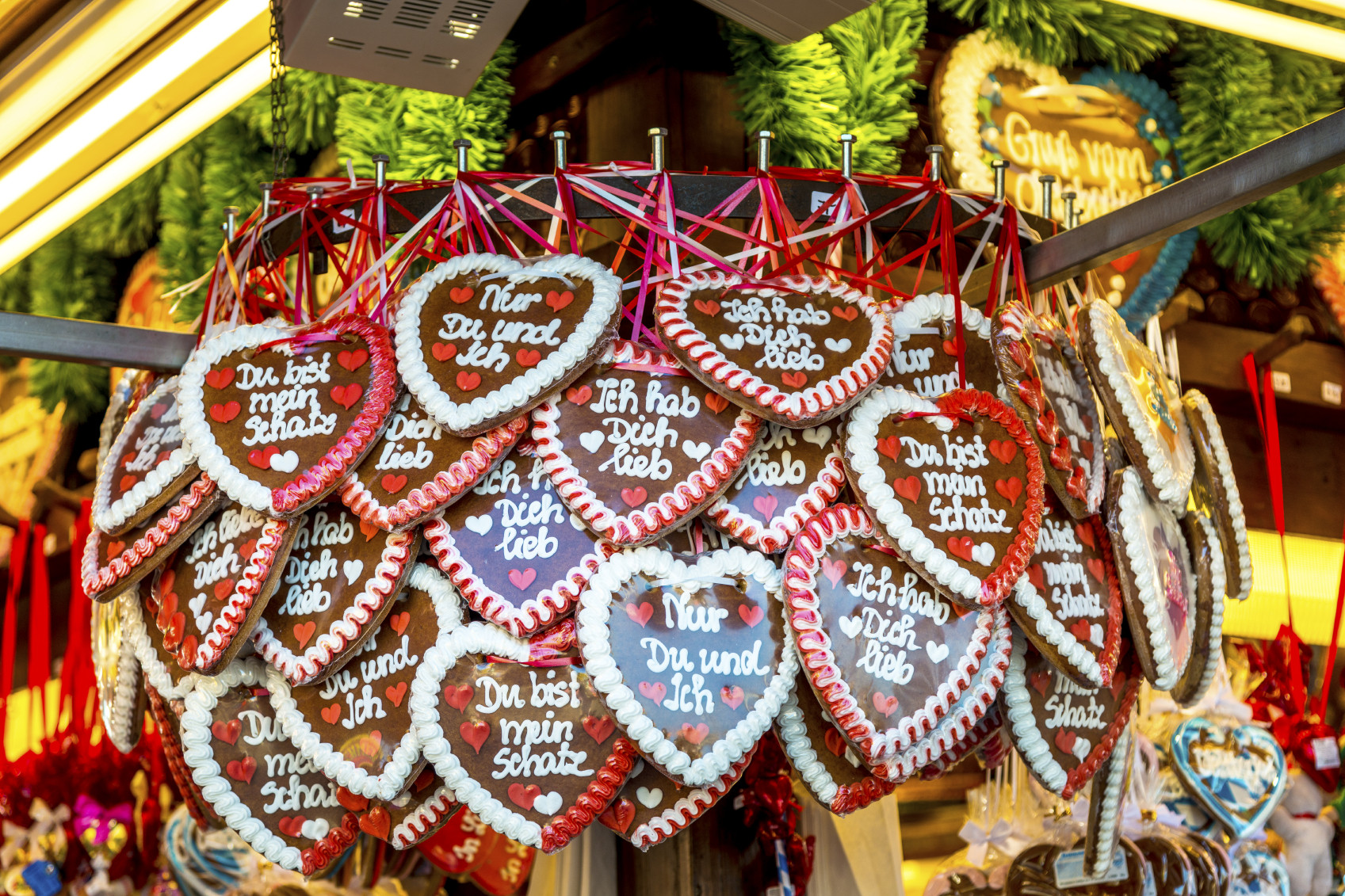 Christmas Cookies And Holiday Hearts  Lebkuchen German Gingerbread The Hungry Traveler
