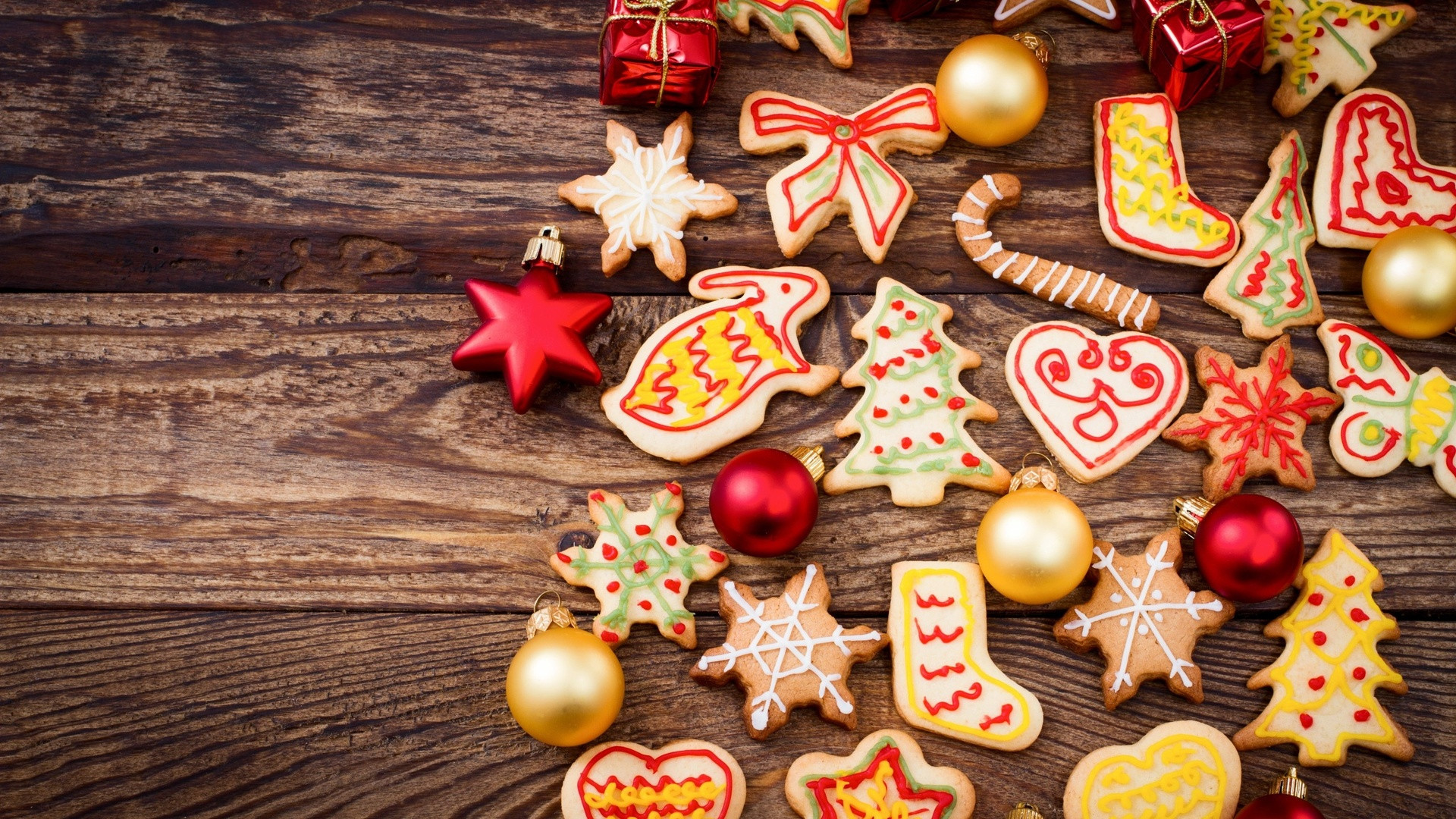 Christmas Cookies And Holiday Hearts  Baking Food Holiday Cookie Shape