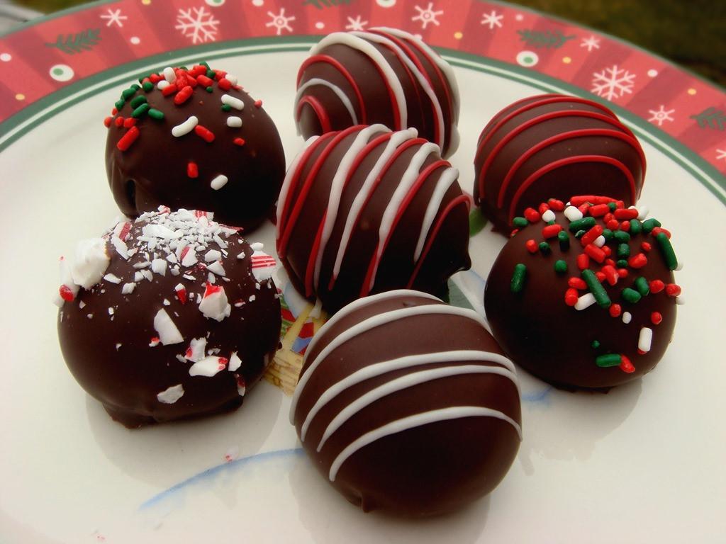 Christmas Cookies Balls  Twelve Days of Christmas Cookies Oreo Truffles
