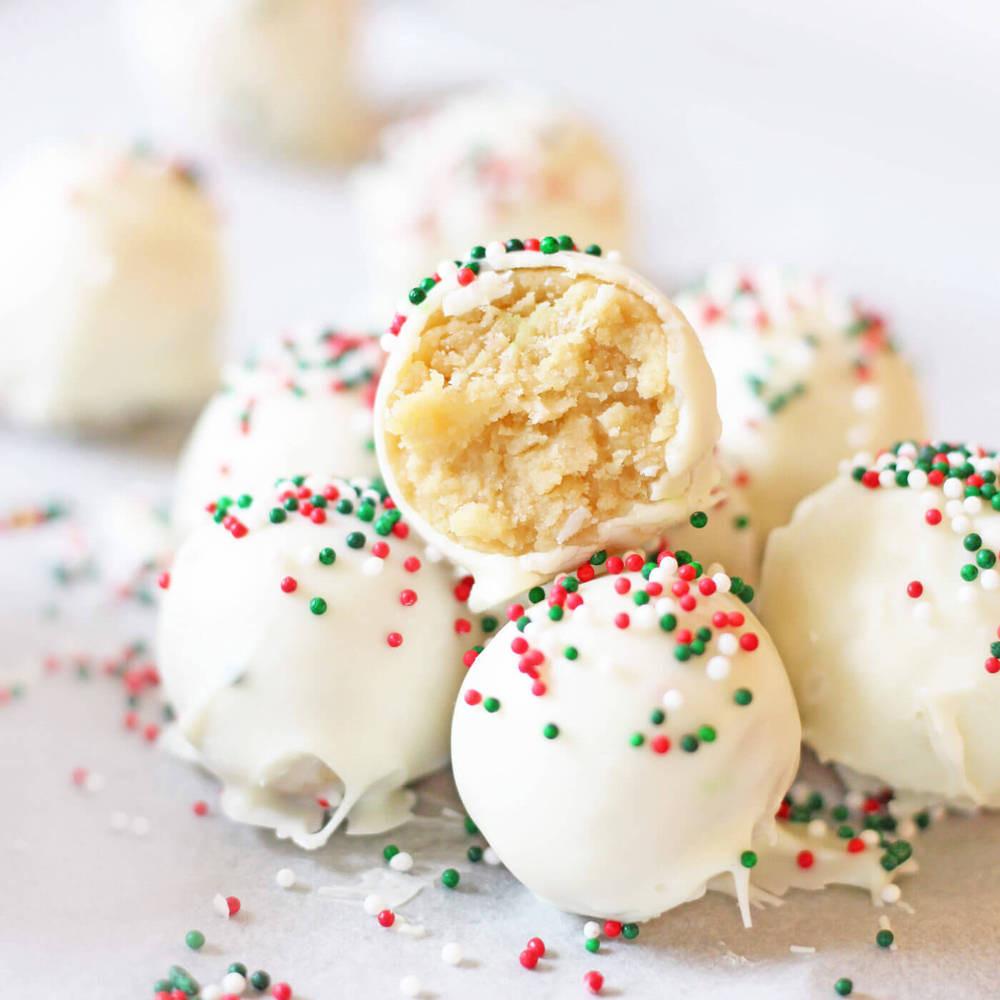 Christmas Cookies Balls  Link Party Palooza 173 I Heart Nap Time