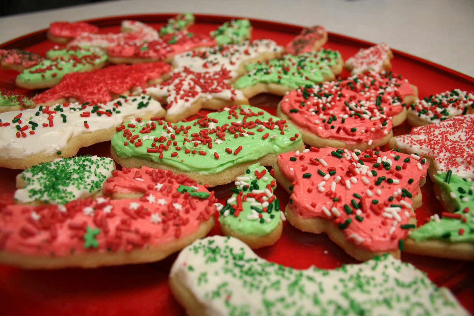 Christmas Cookies Cut Out Recipe  Chelsea Gets Married Christmas Recipe 2 Cut Out Cookies