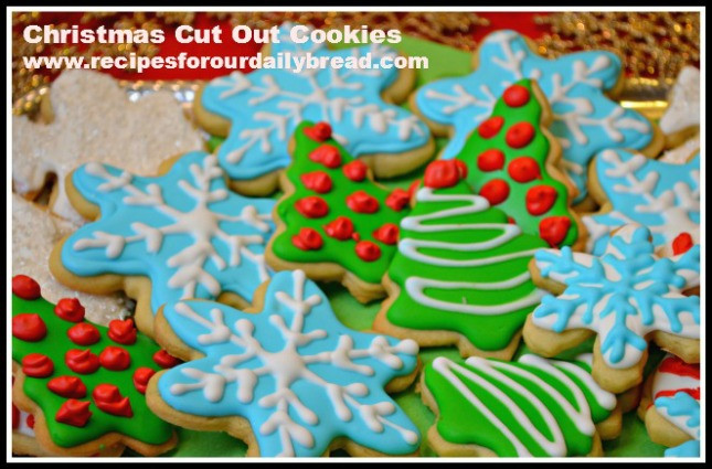 Christmas Cookies Cut Out Recipe  Butter Cookies Cut Out for Christmas recipesforourdaily