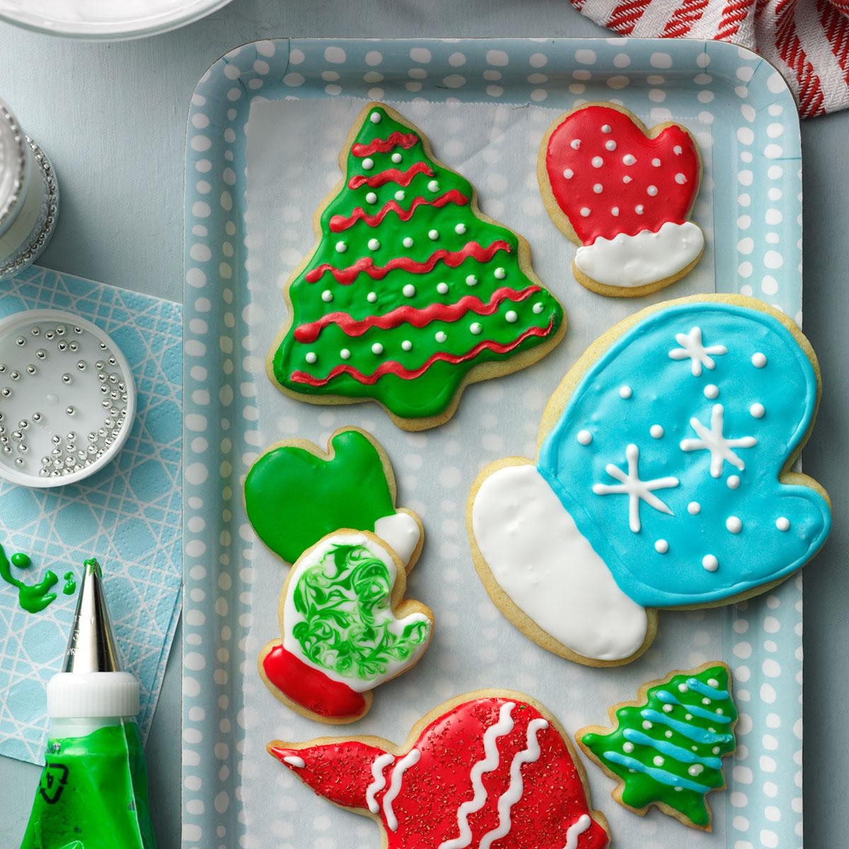 Christmas Cookies Cut Out Recipe  Holiday Cutout Cookies Recipe