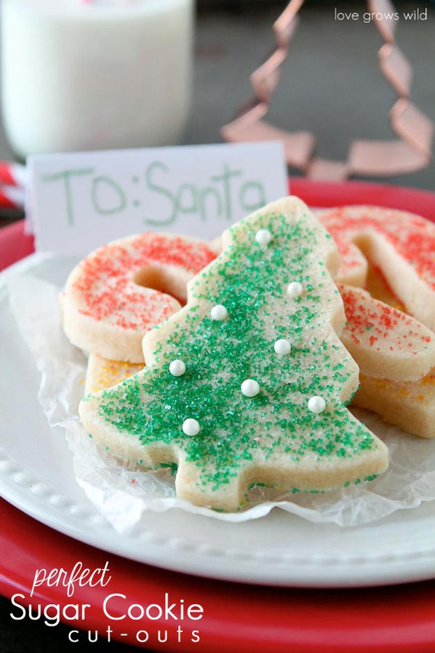 Christmas Cookies Cut Out Recipe  Best Christmas Cookie Recipes DIY Projects Craft Ideas