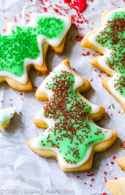 Christmas Cookies Cut Out Recipe  Holiday Cut Out Sugar Cookies with Easy Icing Sallys