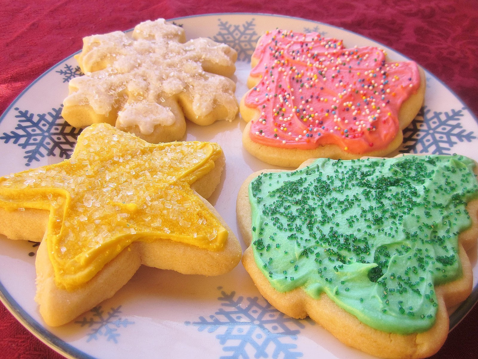 Christmas Cookies Cut Out Recipe  Dimples & Delights Soft & Thick Cut Out Sugar Cookies