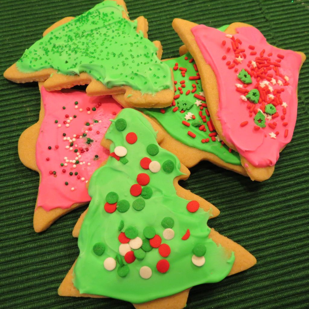 Christmas Cookies Cut Outs  Chewy Cutout Christmas Cookies