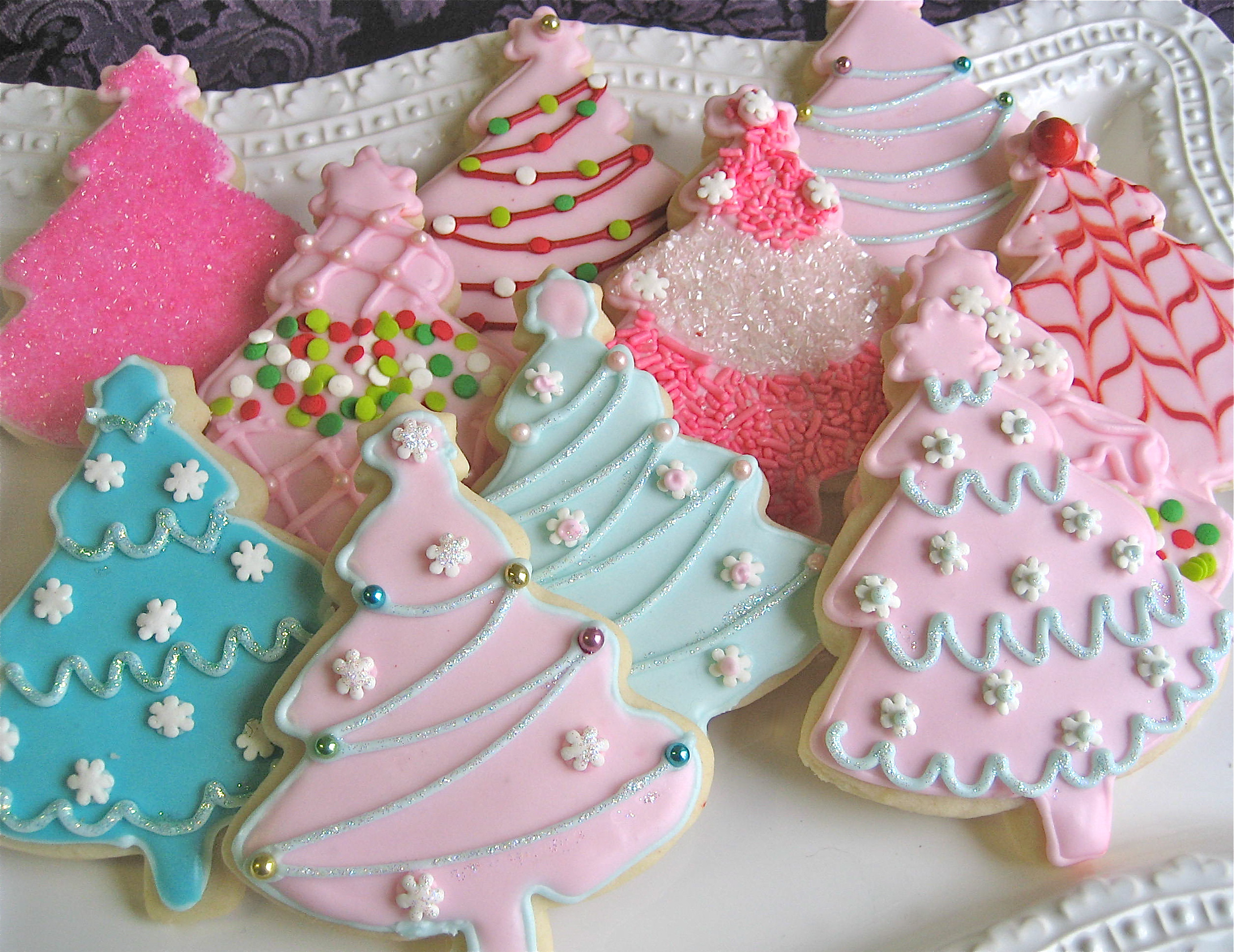 Christmas Cookies Cut Outs  Christmas Cutout Cookies – Ornaments & Trees
