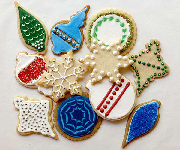 Christmas Cookies Cut Outs  Vanilla Cut Out Cookies Recipe FineCooking