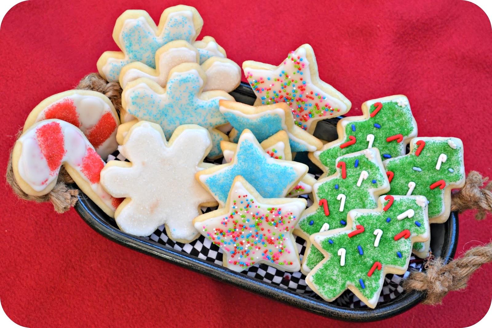 Christmas Cookies Cut Outs  Macke Monologues Christmas Sugar Cutouts