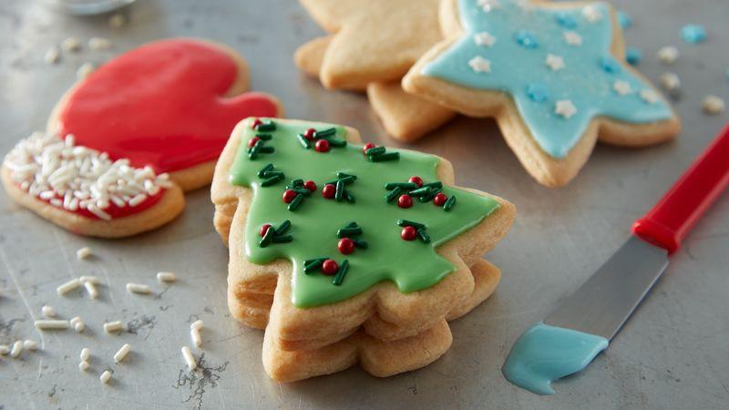 Christmas Cookies Cut Outs  Easy Christmas Sugar Cookie Cutouts Recipe BettyCrocker