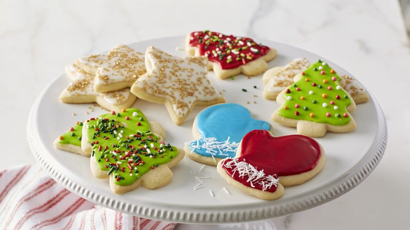 Christmas Cookies Cut Outs  Classic Christmas Sugar Cookie Cutouts Recipe