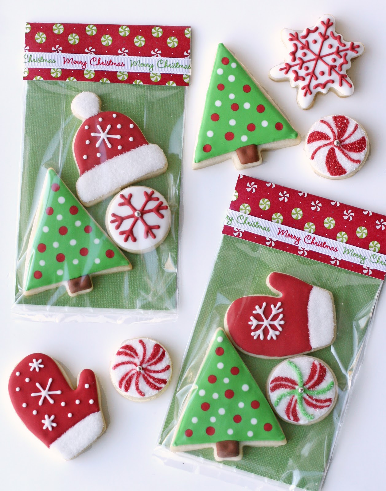 Christmas Cookies Decorating Ideas  Christmas Cookies and Cute Packaging – Glorious Treats