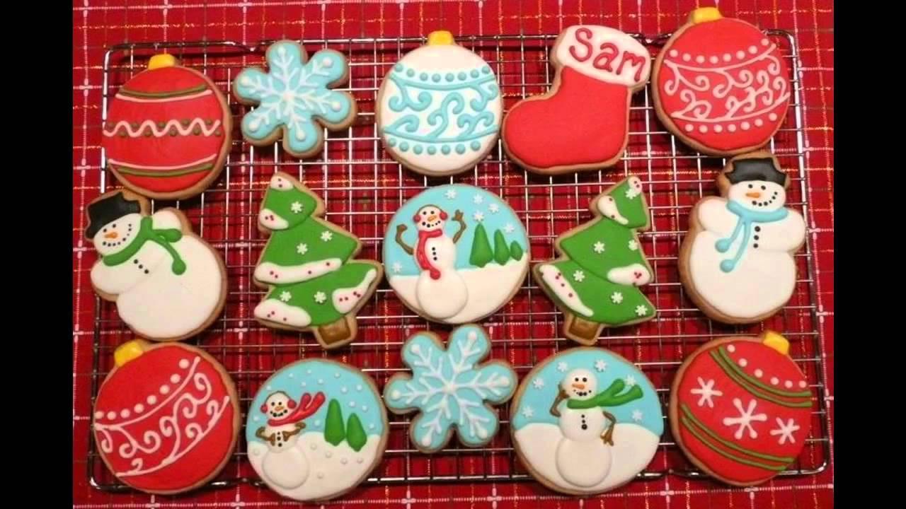 Christmas Cookies Decorating Ideas  Beautiful Christmas cookie decorating ideas