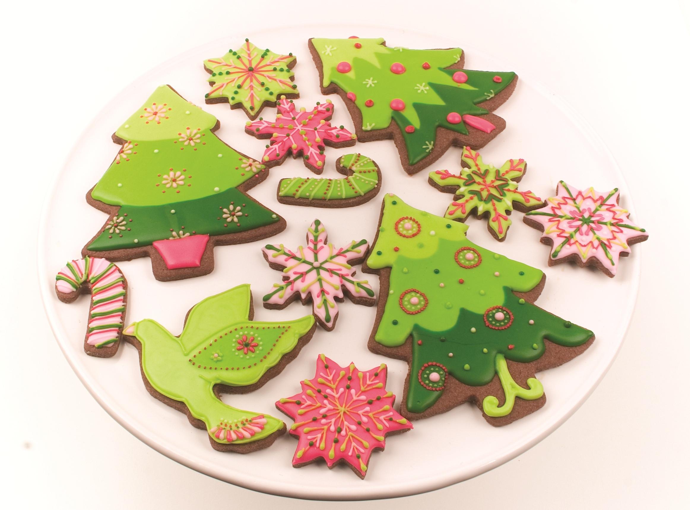 Christmas Cookies Decorating Ideas  christmas tree