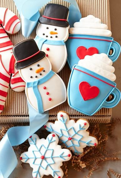 Christmas Cookies Delivered  Southern Blue Celebrations CHRISTMAS COOKIE IDEAS