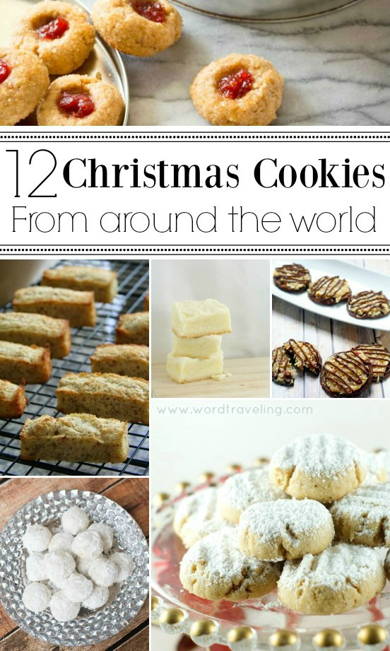 Christmas Cookies From Around The World  12 Christmas Cookie Recipes from Around the World