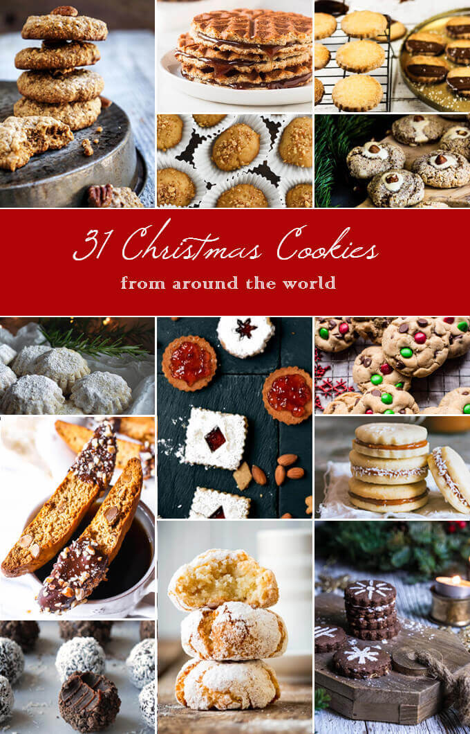 Christmas Cookies From Around The World  31 Christmas cookies from around the world Viktoria s Table