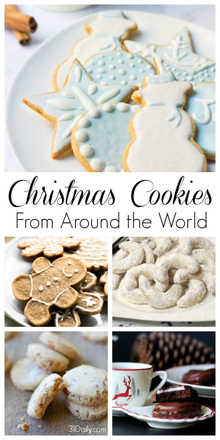 Christmas Cookies From Around The World  Celebrating Holidays with Christmas Cookies From Around