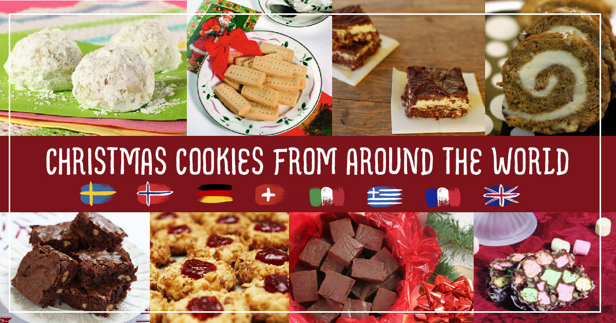 Christmas Cookies From Around The World  Christmas cookie recipes from countries around the world